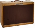 Musical Instruments:Amplifiers, PA, & Effects, 1958 Fender High Power Twin Tweed Guitar Amplifier....