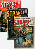 Silver Age (1956-1969):Science Fiction, Strange Tales Group (Marvel, 1956-58).... (Total: 4 Comic Books)