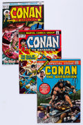 Bronze Age (1970-1979):Adventure, Conan the Barbarian Group (Marvel, 1973-87) Condition: Average VF/NM.... (Total: 24 Comic Books)