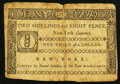 Colonial Notes:New York, New York March 5, 1776 $1/3 Fine.. ...