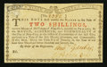 Colonial Notes:New York, New York January 6, 1776 (Water Works) 2s Extremely Fine-AboutNew.. ...