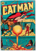 Golden Age (1938-1955):Superhero, Catman Comics #30 (Holyoke/Continental, 1945) Condition: VG/FN....