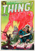 Golden Age (1938-1955):Horror, The Thing! #2 (Charlton, 1952) Condition: FN....
