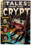 Golden Age (1938-1955):Horror, Tales From the Crypt #44 (EC, 1954) Condition: Apparent VG/FN....