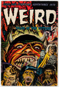 Golden Age (1938-1955):Horror, Weird Tales of the Future #7 (Aragon, 1953) Condition: GD....