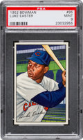 Baseball Cards:Singles (1950-1959), 1952 Bowman Luke Easter #95 PSA Mint 9 - None Higher. ...