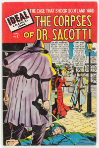 Ideal #2 The Corpses of Dr. Sacotti (Timely, 1948) Condition: VG+