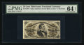 Fractional Currency:Third Issue, Fr. 1296 25¢ Third Issue PMG Choice Uncirculated 64 EPQ.. ...