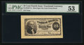 Fractional Currency:Fourth Issue, 25¢ Fourth Issue Face Proof Milton 4P25F.1a PMG About Uncirculated53.. ...
