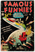 Golden Age (1938-1955):Science Fiction, Famous Funnies #212 (Eastern Color, 1954) Condition: GD....