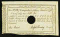 Colonial Notes:Connecticut, Connecticut Interest Certificate March 5, 1791 1 Pound About New 55, HOC.. ...