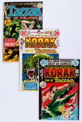 Bronze Age (1970-1979):Adventure, Tarzan-Related Group (DC, 1972-76) Condition: Average VG/FN.... (Total: 40 Comic Books)