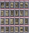 "Baseball Cards:Sets, 1916 M101-4 ""The Sporting News"" PSA Near Set (151/200) - A Fresh to The Hobby Find. ..."