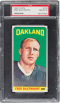 Football Cards:Singles (1960-1969), 1965 Topps Fred Biletnikoff SP #133 PSA NM-MT 8....