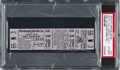 Baseball Collectibles:Tickets, 1970 Pittsburgh Pirates Final Game at Forbes Field Full Ticket PSA Authentic. ...