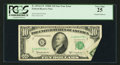 Error Notes:Foldovers, Fr. 2014-G* $10 1950D Federal Reserve Star Note. PCGS Very Fine25.. ...