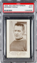 Hockey Cards:Singles (Pre-1960), 1923 William Patterson Georges Vezina #19 PSA EX 5....