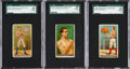 "Boxing Cards:General, 1888 N162 Goodwin ""Champions"" Boxers SGC Graded Trio (3). ..."