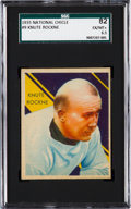 Football Cards:Singles (Pre-1950), 1935 National Chicle Knute Rockne #9 SGC 82 EX/MT+ 6.5. ...