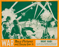 """Non-Sport Cards:Sets, Rare 1939 R165 """"War News Pictures"""" Advertising Window Sign. ..."""
