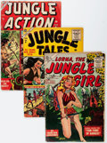 Golden Age (1938-1955):Miscellaneous, Atlas Comics Jungle Related Group (Atlas, 1950s) Condition: Average FR/GD.... (Total: 14 Items)