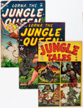 Golden Age (1938-1955):Miscellaneous, Atlas Comics Jungle Related Group (Atlas, 1953-57) Condition: Average VG-.... (Total: 5 Items)