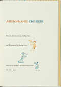 Books:Literature 1900-up, [Limited Editions Club] Marian Parry, illustrator. SIGNED. Aristophanes. The Birds. Limited Editions Club, 1959. Edi...