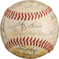 Autographs:Baseballs, 1962 New York Yankees Team Signed Baseball - Signed for WhiteyFord....