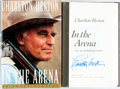 Books:Biography & Memoir, Charlton Heston. SIGNED. In the Arena. New York: Simon andSchuster, [1995]. First edition. Signed by the author. ...
