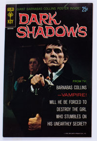 Dark Shadows #1 (Gold Key, 1969) Condition: VF+