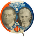 Political:Pinback Buttons (1896-present), Wilson & Marshall: Great 1916 Jugate....
