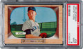 Baseball Cards:Singles (1950-1959), 1955 Bowman Whitey Ford #59 PSA Mint 9 - Only One Higher. ...