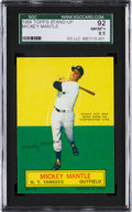 Baseball Cards:Singles (1960-1969), 1964 Topps Stand-Up Mickey Mantle SGC 92 NM/MT+ 8.5....