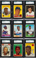 Baseball Cards:Lots, 1933 - 1993 Baseball Stars & Hall of Famers Collection (200+)....