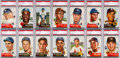 Baseball Cards:Sets, 1953 Topps Baseball Complete Set (274) With 79 PSA Graded Cards....
