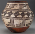 American Indian Art:Pottery, AN ACOMA POLYCHROME JAR. c. 1900...