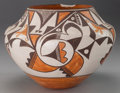 American Indian Art:Pottery, AN ACOMA POLYCHROME JAR. c. 1950...