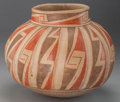 American Indian Art:Pottery, A CASAS GRANDE POLYCHROME MELON JAR. c. 1100 - 1200 AD...