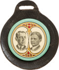 Political:Pinback Buttons (1896-present), Wilson & Marshall: Colorful Jugate Fob....