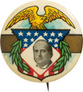Political:Pinback Buttons (1896-present), William Jennings Bryan: Golden Age Picture Pin by Ehrman....