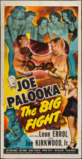 "Movie Posters:Sports, Joe Palooka in the Big Fight (Monogram, 1949). Three Sheet (41"" X 80.5""). Sports.. ..."