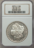 Morgan Dollars: , 1878-S $1 MS64 Prooflike NGC. NGC Census: (703/221). PCGS Population (470/144). Numismedia Wsl. Price for problem free NGC...