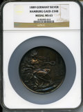 German States:Hamburg, German States: Hamburg. Exhibition silver Medal 1889 MS63 NGC,...