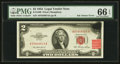 Error Notes:Ink Smears, Fr. 1509 $2 1953 Legal Tender Note. PMG Gem Uncirculated 66 EPQ.....