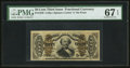 Fractional Currency:Third Issue, Fr. 1338 50¢ Third Issue Spinner PMG Superb Gem Unc 67 EPQ.. ...