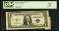 Error Notes:Foldovers, Fr. 1614 $1 1935E Silver Certificate. PCGS Very Fine 25.. ...