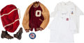 Football Collectibles:Others, Early 1960's Ralph Neely Personal Oklahoma Sooners Equipment, Etc. Lot of 6....