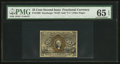 Fractional Currency:Second Issue, Fr. 1289 25¢ Second Issue PMG Gem Uncirculated 65 EPQ.. ...