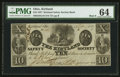 Obsoletes By State:Ohio, Kirtland, OH- The Kirtland Safety Society Bank $10 Feb. 10, 1837G10 Rust 8 Wolka 1424-12. ...