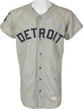 Baseball Collectibles:Uniforms, 1969 Jim Northrup Game Worn Detroit Tigers Jersey....